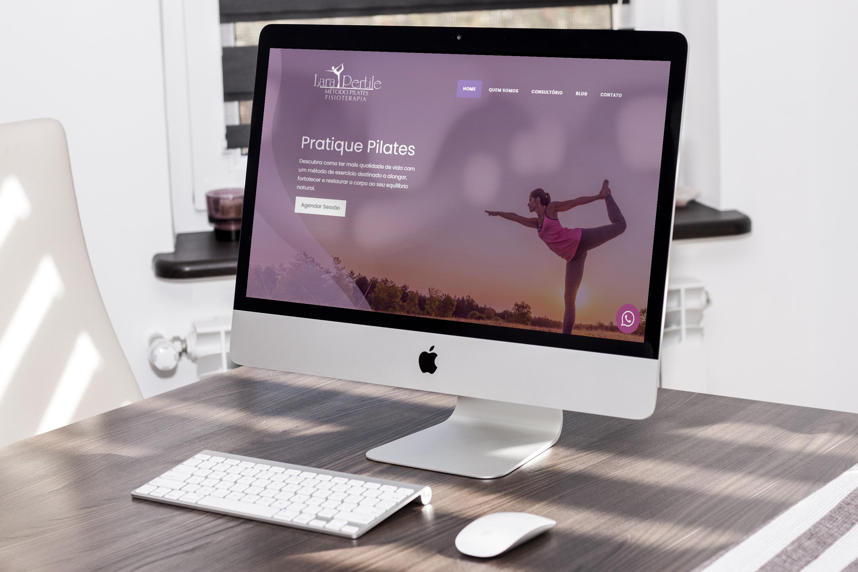 website Lara Pertile Pilates